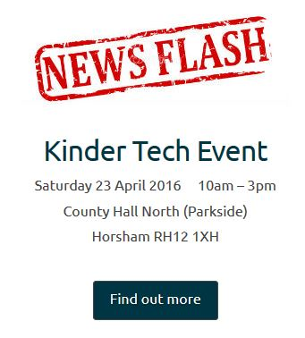 Kinder Tech News Flash